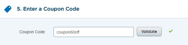 クーポンコード設定